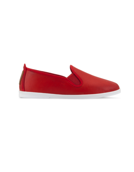 Madrid Red leather