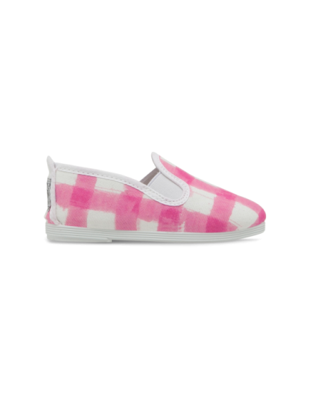 Yesa Pink painted check